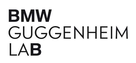 BMW Guggenheim Lab word mark, Designer: Sulki & Min, Photo: The Solomon R. Guggenheim Foundation, New York (05/2011)