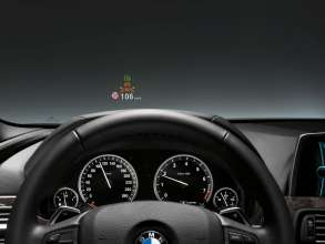 BMW ConnectedDrive: Head-Up Display, Active Cruise Control with Stop & Go function (07/2011).