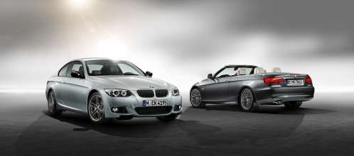 Two new editions for BMW 3 Series Coupe and Convertible: M Sport Edition (left) and Edition Exclusive (07/2011)