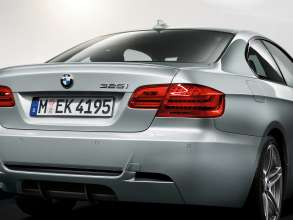 Rear of the BMW 3 Series Coupé M Sport Edition with Sport Diffusor (07/2011)