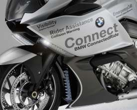 BMW Motorrad ConnectedRide. Advanced Safety Concept. LED strobes (07/2011)