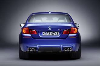 The new BMW M5 (06/2011)