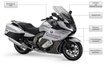 BMW Motorrad ConnectedRide. Advanced Safety Concept. Components incl. explanation (07/2011)