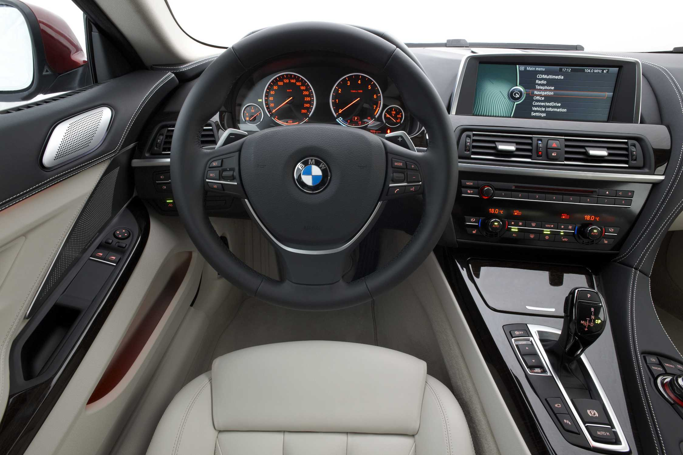 The new BMW 640i Coupe  Interior 072011