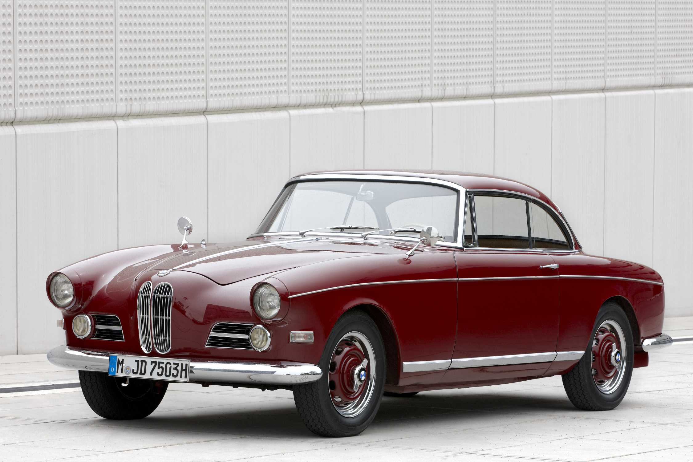 The BMW 503 Coupe Sport, year of manufacture 1959 - Exterior (07/2011).