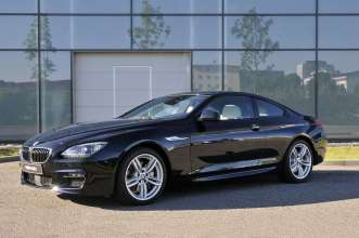 The new BMW 640d Coupe with M Sport Package - Exterior (07/2011).