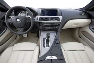The new BMW 640d Coupe with M Sport Package - Interior (07/2011).