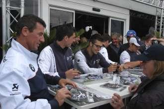 BMW Motorrad Days 2011, Troy Corser, Sylvain Barrier, Lorenzo Zanetti, James Toseland & Ayrton Badovini (07/2011)