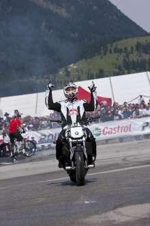 BMW Motorrad Days 2011, Stuntshow Chris Pfeiffer (07/2011)