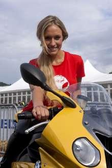 BMW Motorrad Days 2011, Alena Gerber (07/2011)