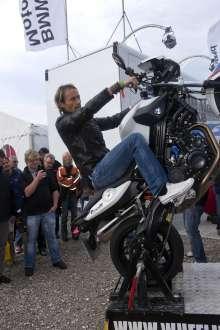 BMW Motorrad Days 2011, Sven Hannawald (07/2011)