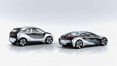 BMW i3 Concept and BMW i8 Concept (07/2011)