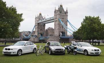 First BMW handed to LOCOG for London 2012 is a bicycle