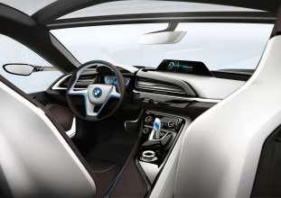 BMW i8 Concept, Interior (07/2011)