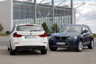 The BMW X3 and BMW X1 (08/2011)