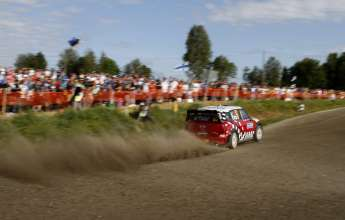 MINI WRC Team, Rally Finland (FIN) 30.07.2011, Kris Meeke. This image is Copyright free for editorial use © BMW AG (07/2011)