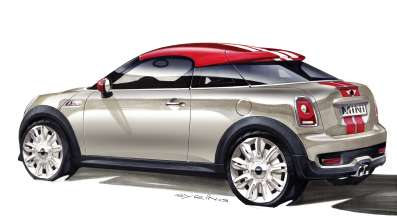 MINI Coupé - Design sketches (08/2011)