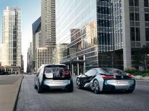 BMW i3 Concept and BMW i8 Concept (09/2011)