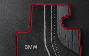 BMW 1 Series - Accessories velour floor mats Sport Line (09/2011)