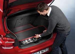BMW 1 Series - Accessories fitted luggage compartment mat Sport Line (09/2011)