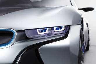 BMW i8 Concept with BMW Laserlight  (09/2011)