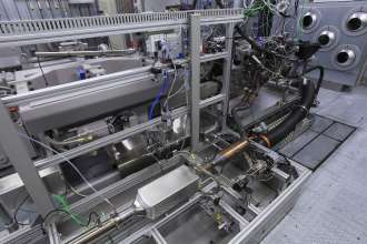Research project Turbosteamer - Generation 2 on the test bed (08/2011)