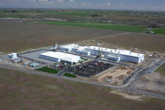 New joint venture plant BMW Group and SGL Automotive Carbon Fibers in Moses Lake, USA (08/2011)