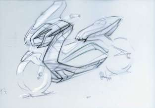 BMW Motorrad design study at the IAA 2011 (09/2011)