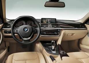 New BMW 3 Series: Cockpit Luxury Line (10/2011)