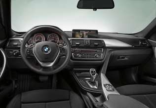 New BMW 3 Series: Cockpit standard version (10/2011)