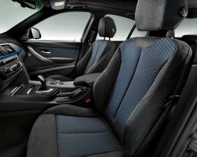 New BMW 3 Series: Front seats M Sport Package (10/2011)