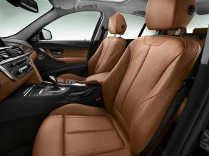 New BMW 3 Series: Front seats Luxury Line (10/2011)