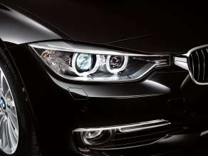 New BMW 3 Series: Headlights (10/2011)