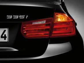 New BMW 3 Series: Rear lights (10/2011)