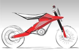 Husqvarna Motorcycles design study at the IAA 2011 (09/2011)