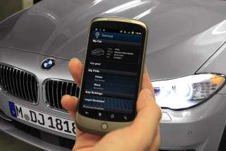 Development project My BMW Remote App for Android (10/2011)