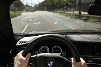 Research project Augmented Reality - contact-analogue Head-Up Display (10/2011)