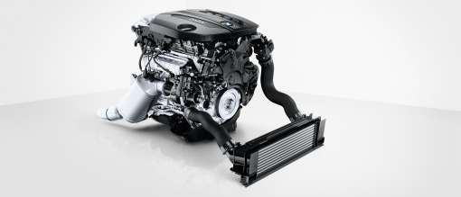 BMW 4-cylinder diesel engine with TwinPower Turbo (10/2011)