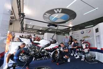 Imola( ITA) 23 September 2011. World Superbike Championship Italian Round BMW Motorrad Italia SBK Team.  Ayrton  Badovini. This image is copyright free for editorial use © BMW Motorrad Italia