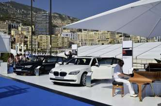 BMW at the Monaco Yacht Show 2011 : BMW Individual 7 Series Composition inspired by Steinway & Sons