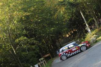 MINI WRC 2011. Rally de France, 30 September-2 October 2011 (10/2011).