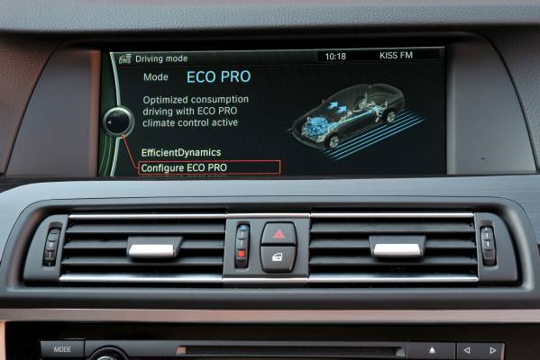 The new BMW 520d EfficientDynamics Edition (10/2011).