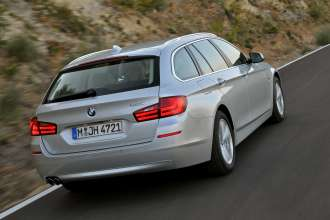 The new BMW 528i (10/2011).