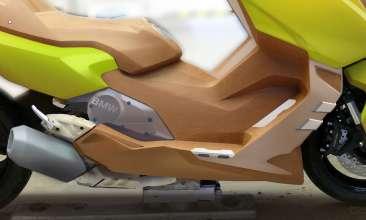 BMW C 600 Sport, design (11/2011)