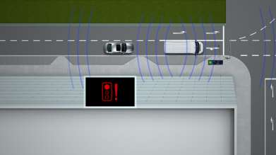 The Traffic Light Assistant (Red light warning) by BMW ConnectedDrive - a Car-2-X Technology (10/2011)
