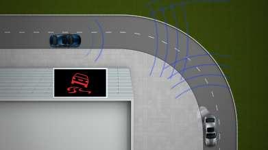 The local hazard warning (glaze ice warning) by BMW ConnectedDrive - a Car-2-X Technology (10/2011)