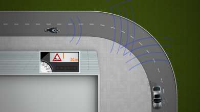 The local hazard warning by BMW ConnectedDrive and BMW Motorrad ConnectedRide - a Car-2-X Technology (10/2011)