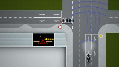 The Intersection Assistant by BMW ConnectedDrive and BMW Motorrad ConnectedRide - a Car-2-X Technology (10/2011)