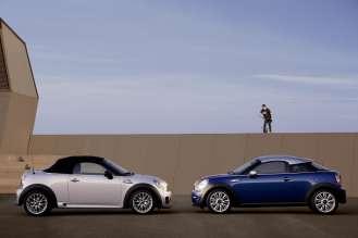 MINI Roadster and MINI Coupé. (10/2011)