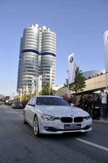 BMW 3 Series World Premiere BMW Plant Munich (10/2011)